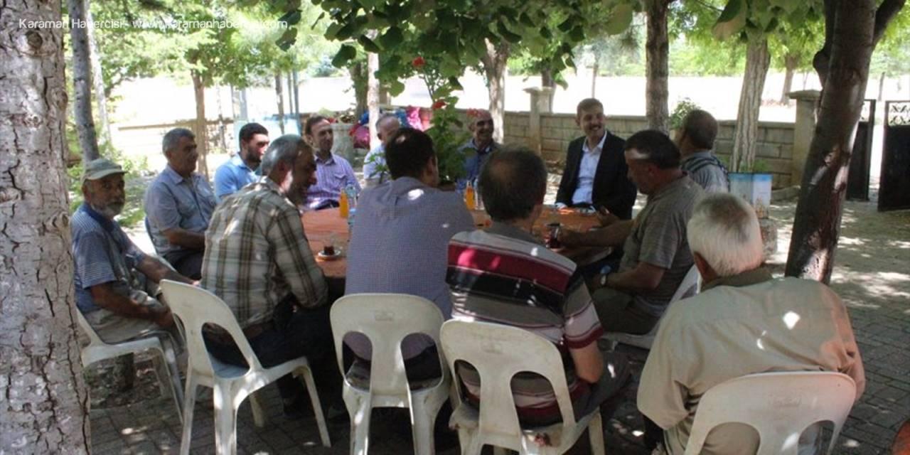 Kaymakam Kızılköyü'nü Ziyaret Etti
