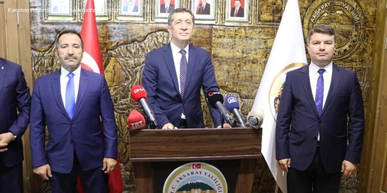 Milli Eğitim Bakanı Ziya Selçuk Aksaray'da