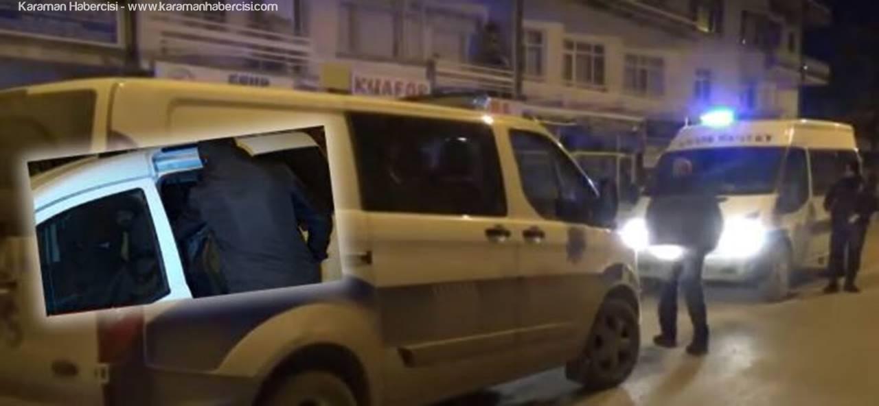 Maskeli Hırsız Polisten Kaçamadı