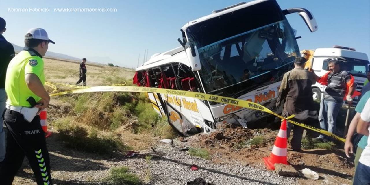 Aksaray'da Yaşanan Otobüs Faciasında Son Durum