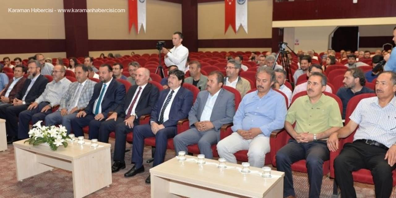 KMÜ'de 15 Temmuz Konulu Konferans