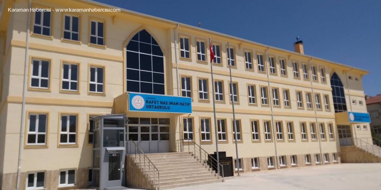 Yeni Dönemde Karaman'da İki Okul Daha Hizmete Girecek
