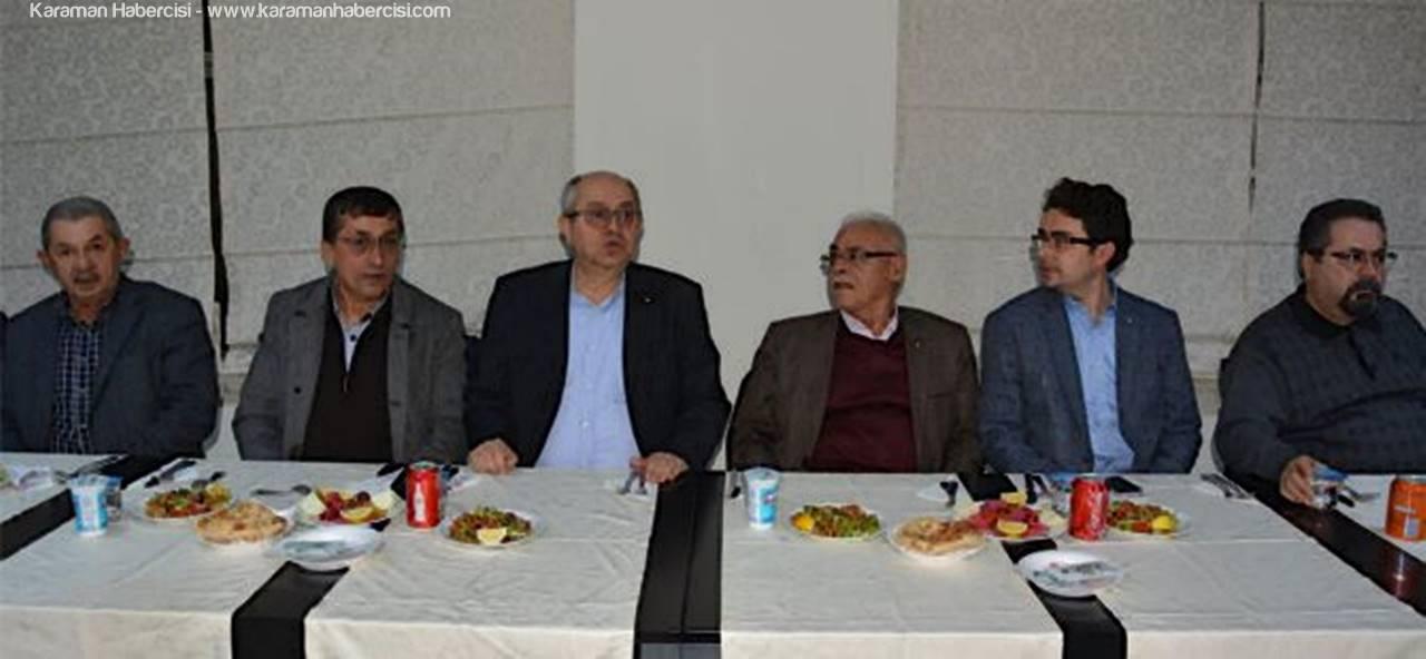 Karaman'da Oda-Borsa Meclis Üyeleri Müşterek Toplantısı Yapıldı