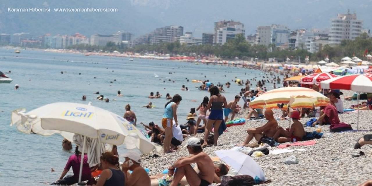 Antalya'da Termometreler 42 Dereceyi Gösterdi