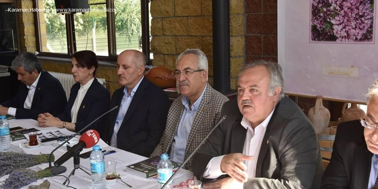 TBMM Tıbbi Aromatik Bitkiler Komisyonu üyeleri, Karaman'da