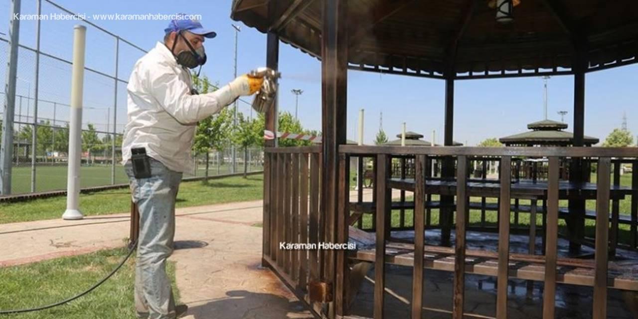 Karaman'da Yeşil Alan Çalışmaları