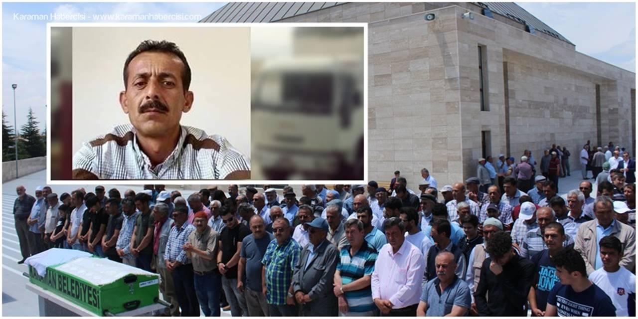 Karaman'da Vefat Edenler Defnedildi
