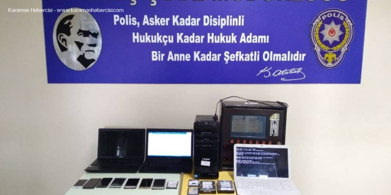 Mersin'de Yasa Dışı Bahis Operasyonu