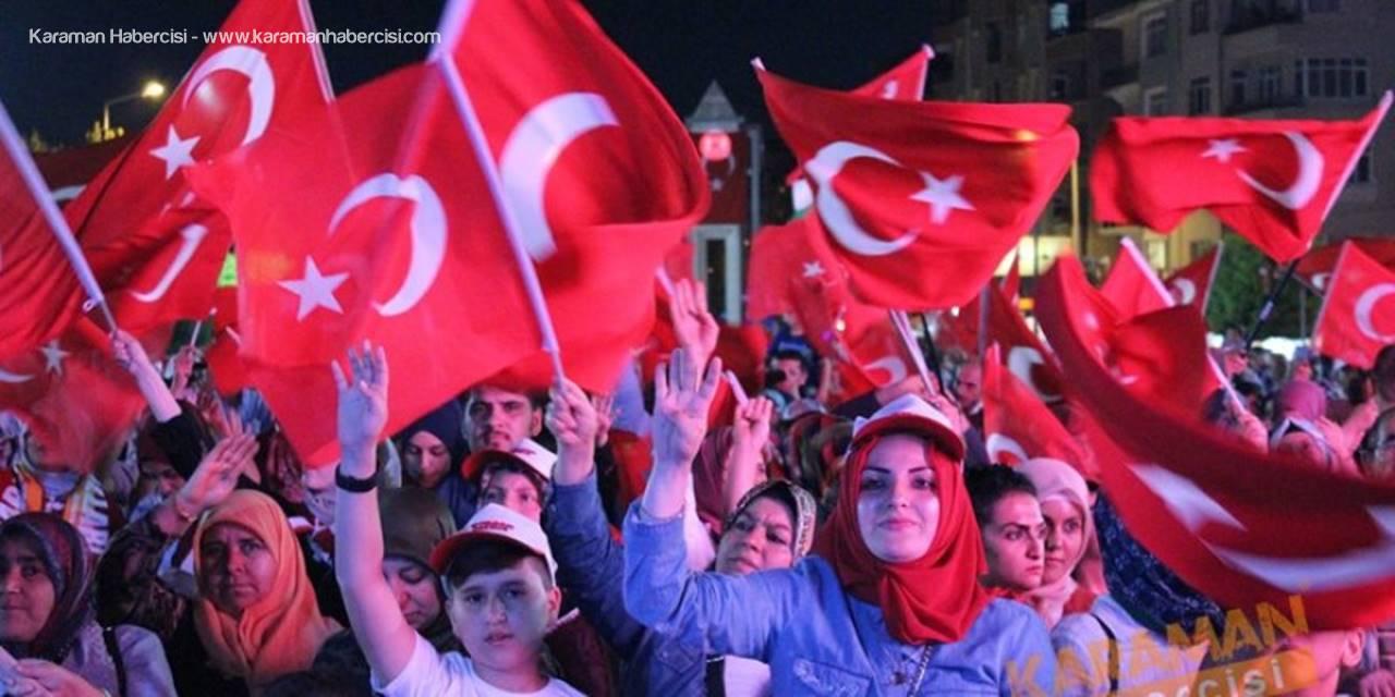 15 Temmuz Demokrasi ve Milli Birlik Günü Programı