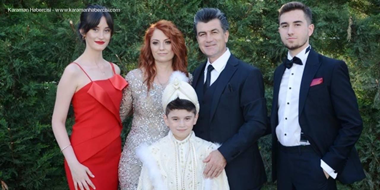 Baş Ailesi, Yakınları ve Dostları İle Sünnet Düğünde Bir Araya Geldi