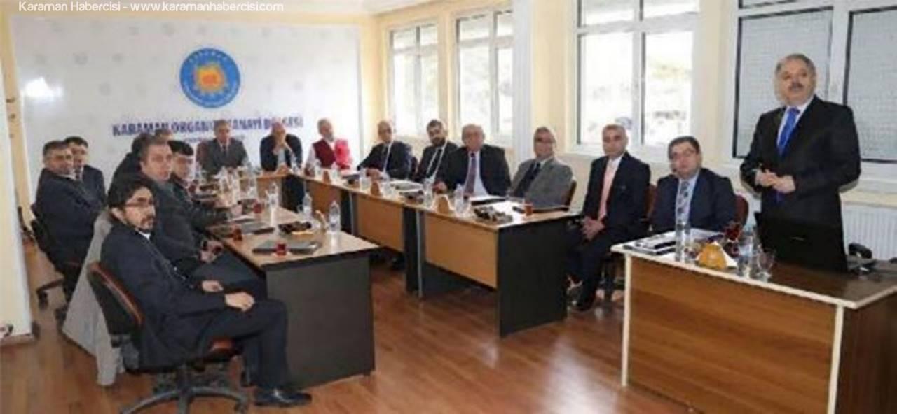 Karaman'da İstihdam Seferberliği Toplantısı Yapıldı