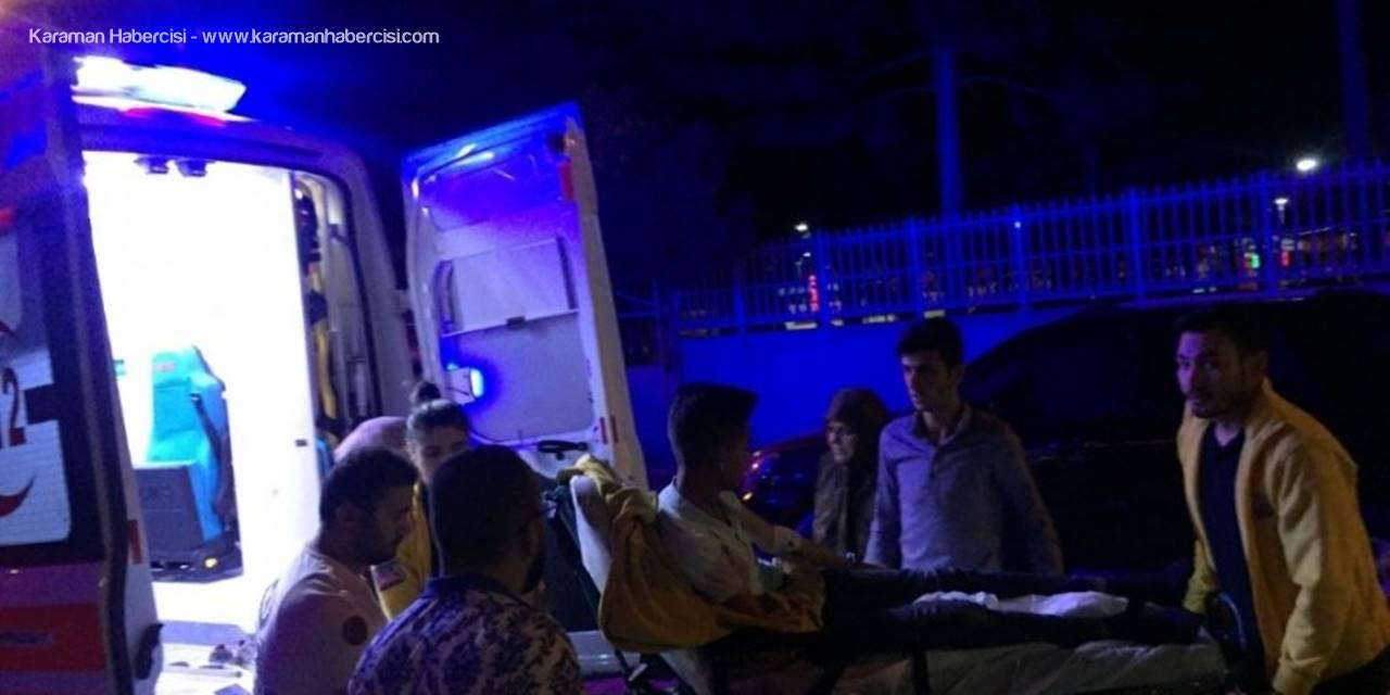 Otomobil İle Elektrikli Bisiklet Çarpıştı: 1 Yaralı