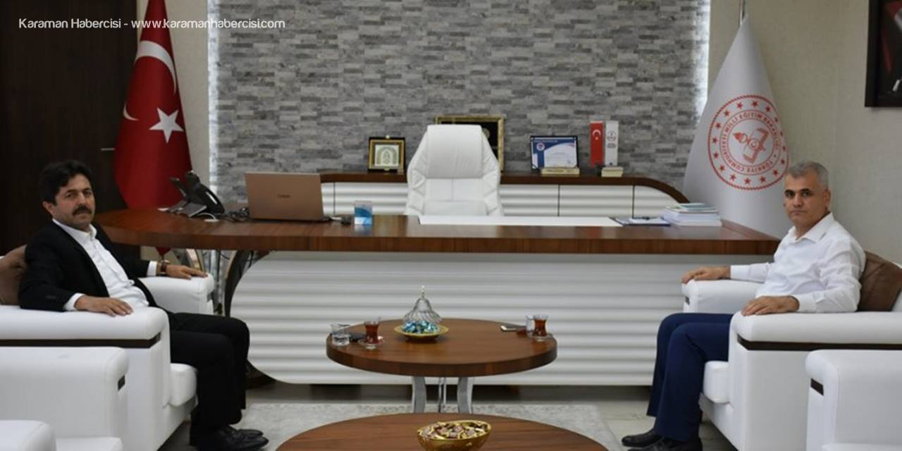 Cumhurbaşkanlığı Kabine Sekreteri Sağlam'dan Karaman MEM Ziyareti