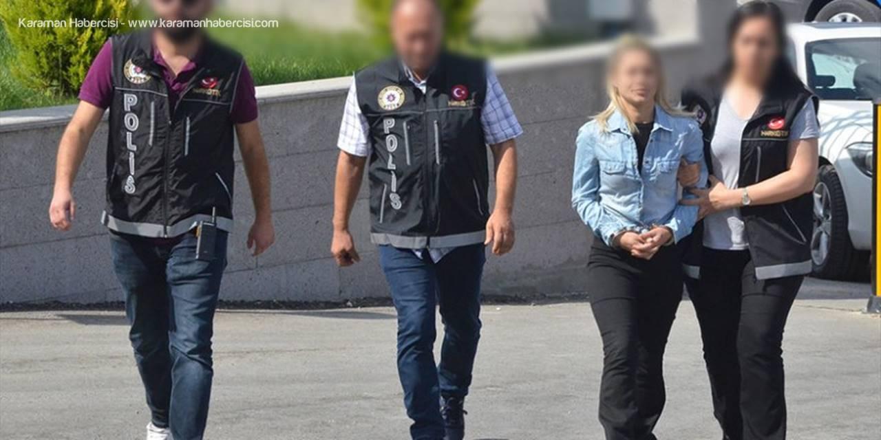 Karaman'da uyuşturucu operasyonu