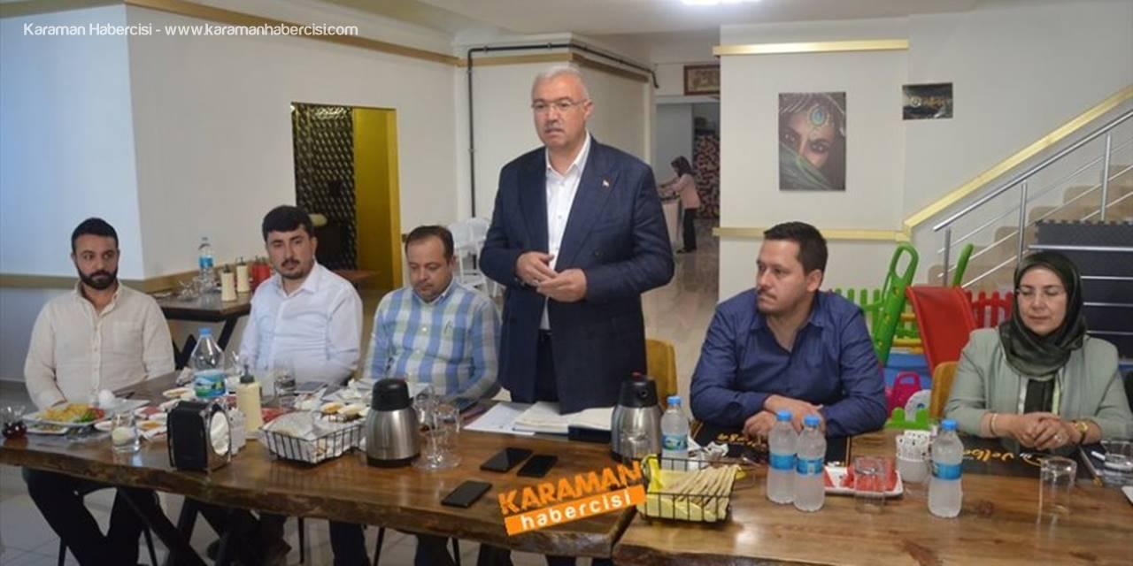 AK Parti Karaman İl Teşkilatı Yeni Dönemini Anlattı