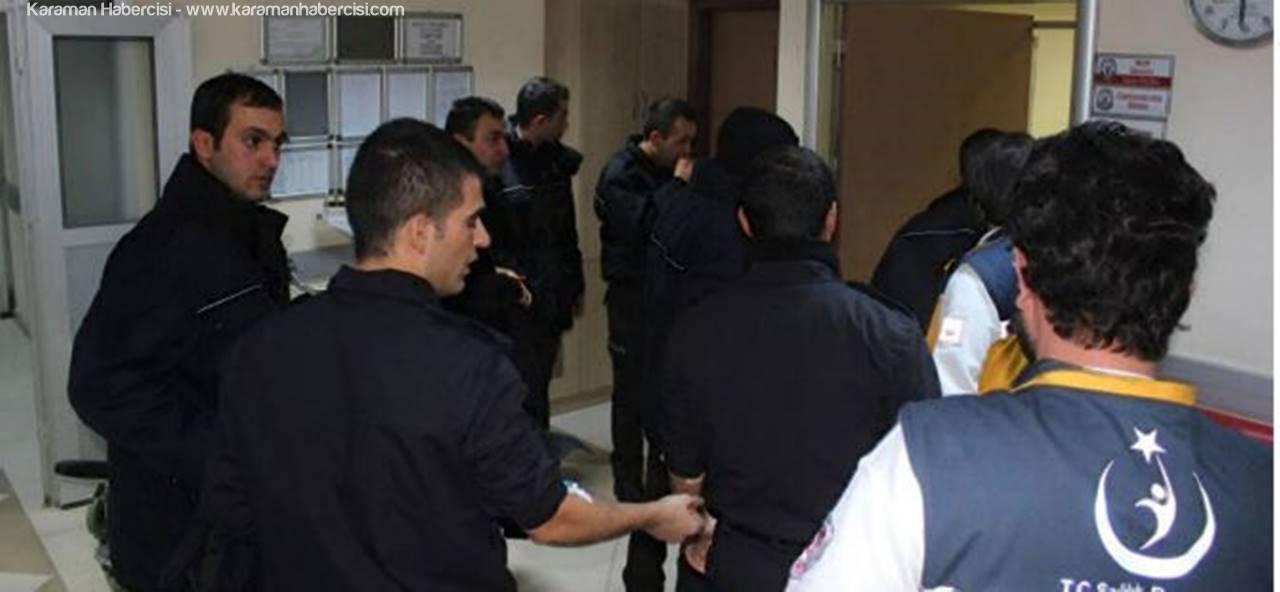 Karaman'da 33 Polis Adayı Yemekten Zehirlendi