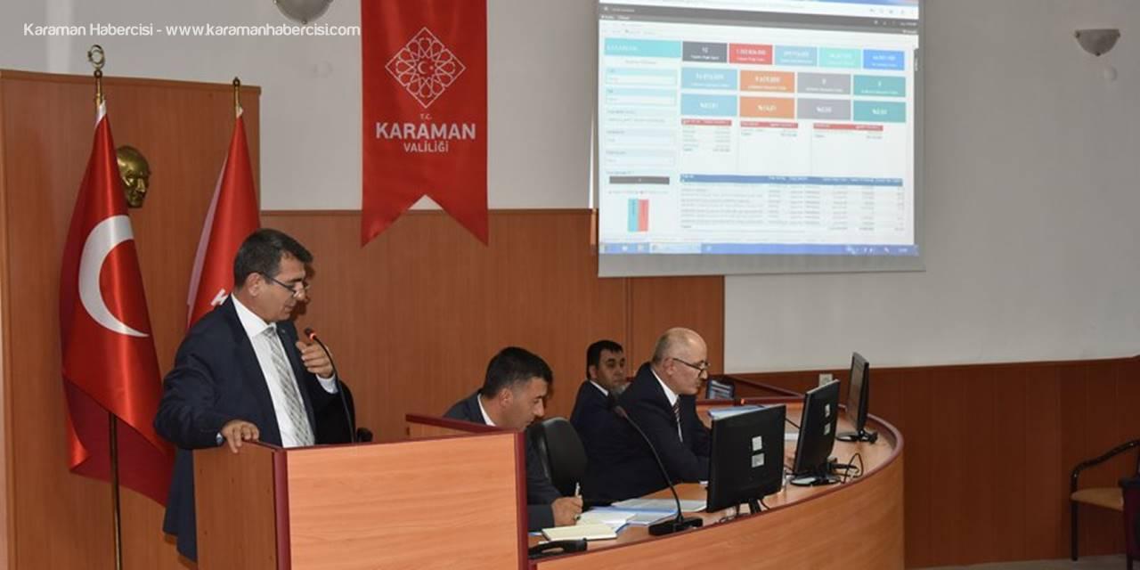 İşte Karaman'da Yatırımların Son Durumu