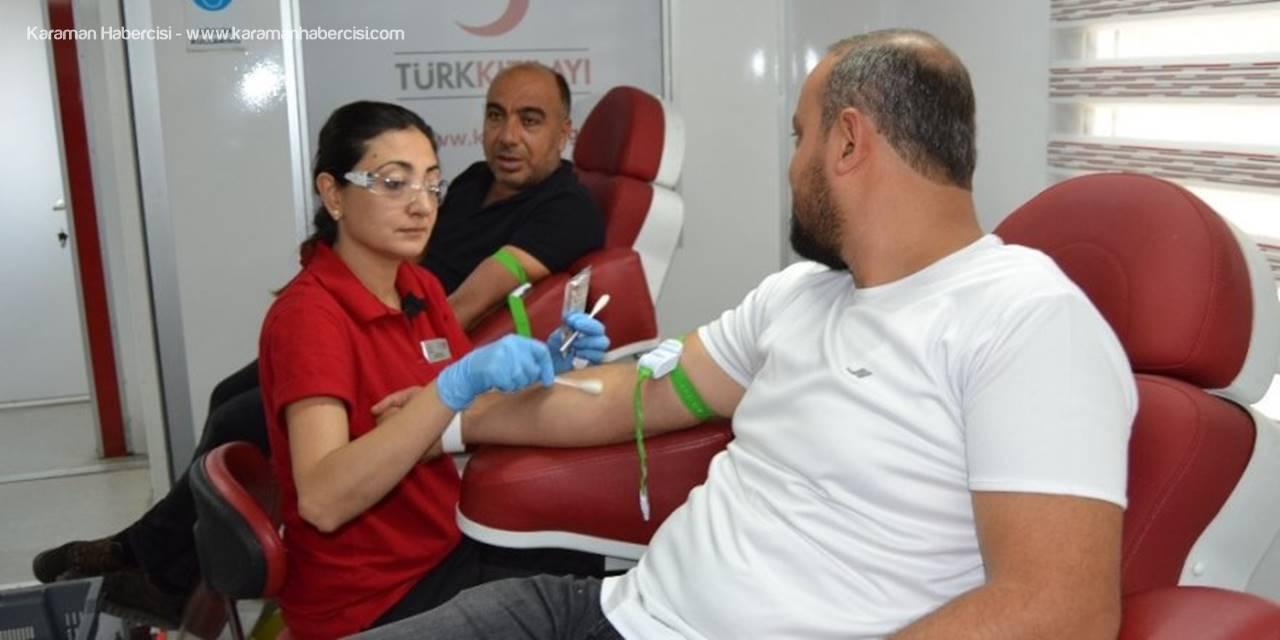 Konya'da Kan Ve Kök Hücre Bağışı