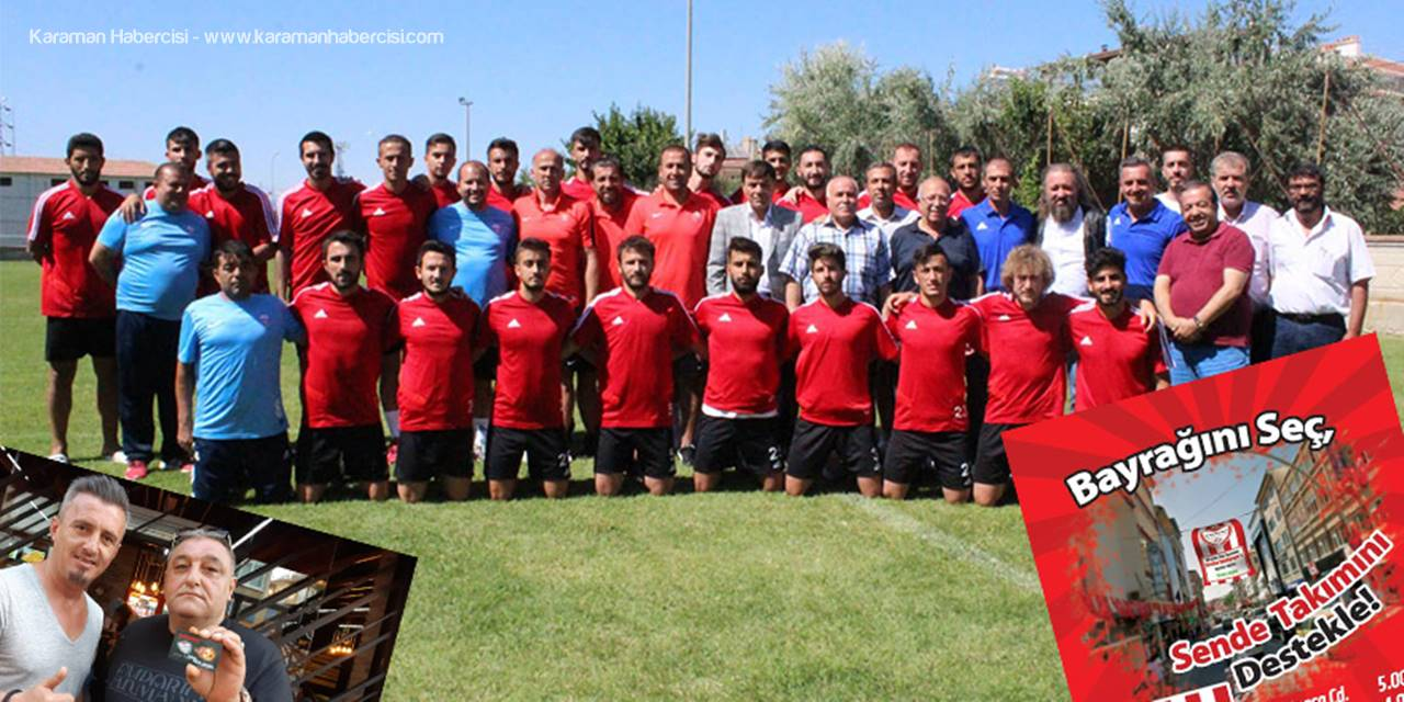 Karaman Belediyespor'da Hedef Bölgesel Amatör Lige Veda