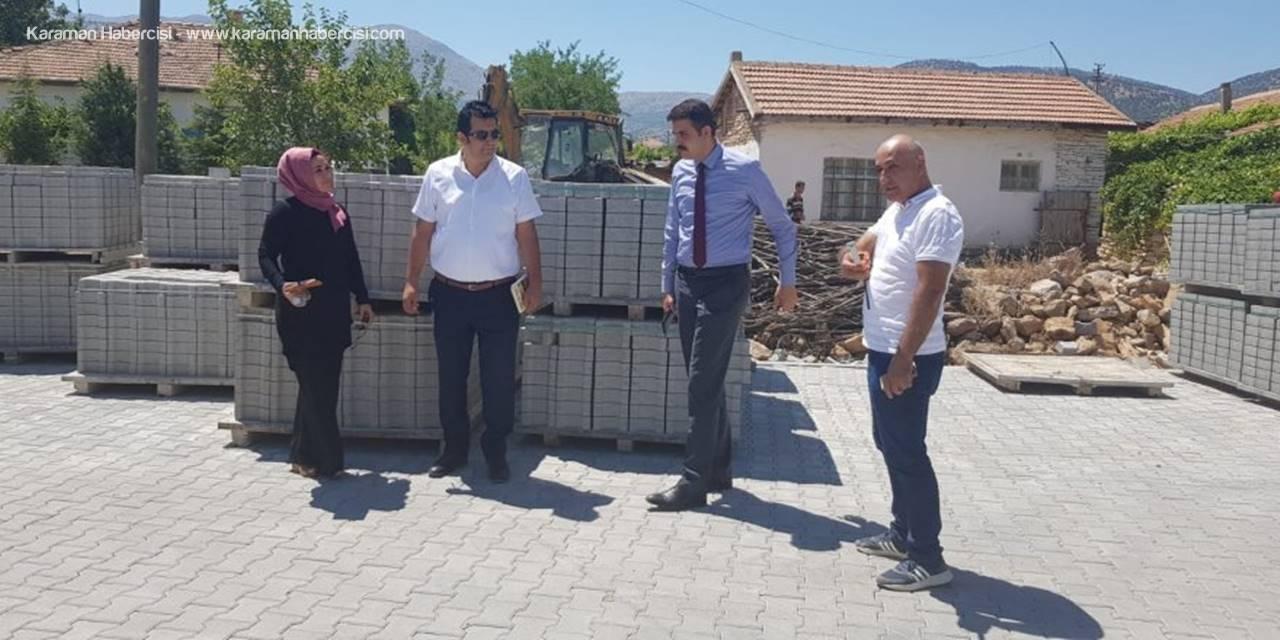 Kazımkarabekir Kaymakamı Mehmet Ali Atak'tan Ziyaretler