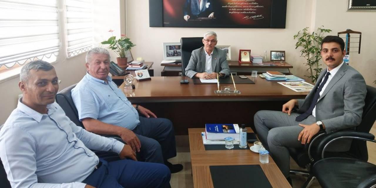 Kazımkarabekir Kaymakamı İl Genel Meclisi Başkanı İle Yatırımları Konuştu