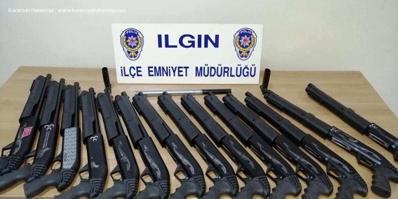 Konya Emniyetinden Silah Operasyonu