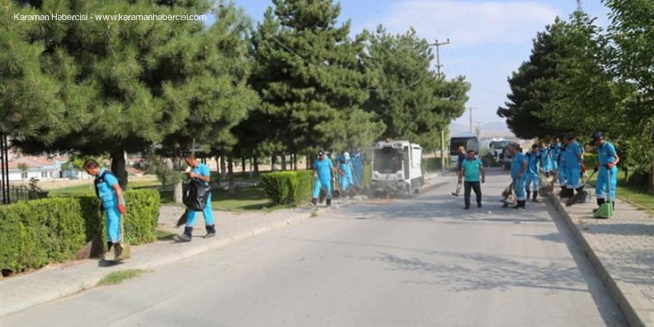 Niğde'de Mahallelerde Toplu Temizlik Çalışmaları