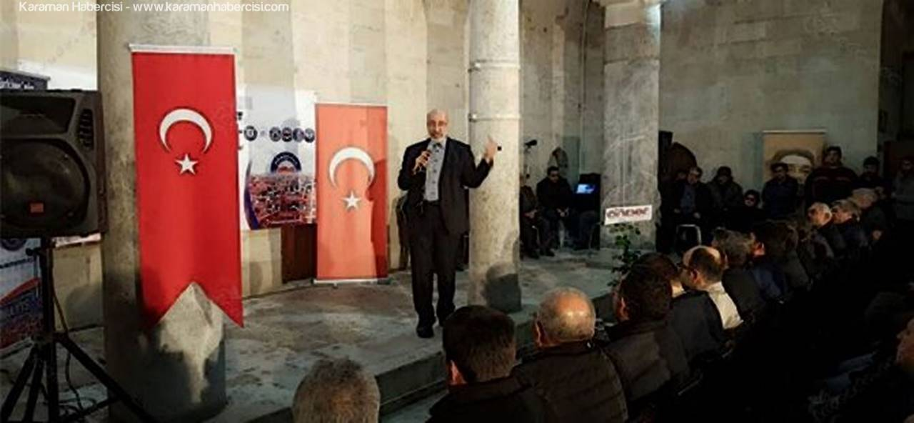 Dilipak'ın Karaman'da Dolu Geçen Günü