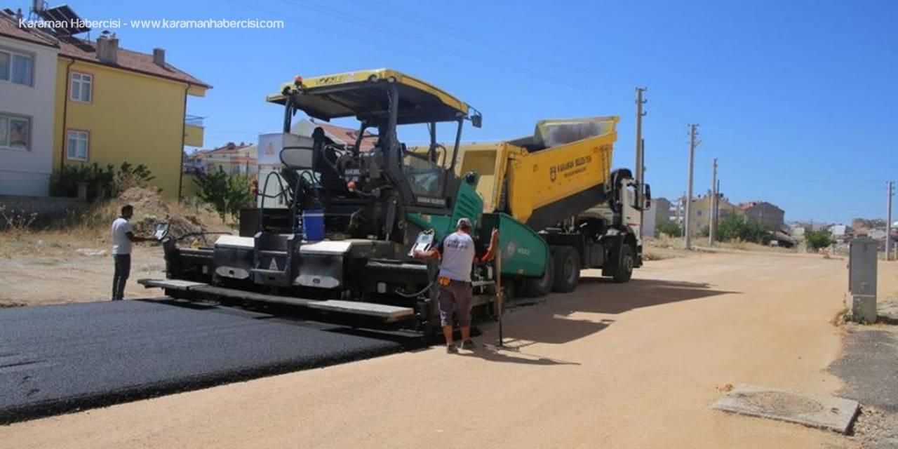 Karaman'da Yol Çalışmalarında Son Durum