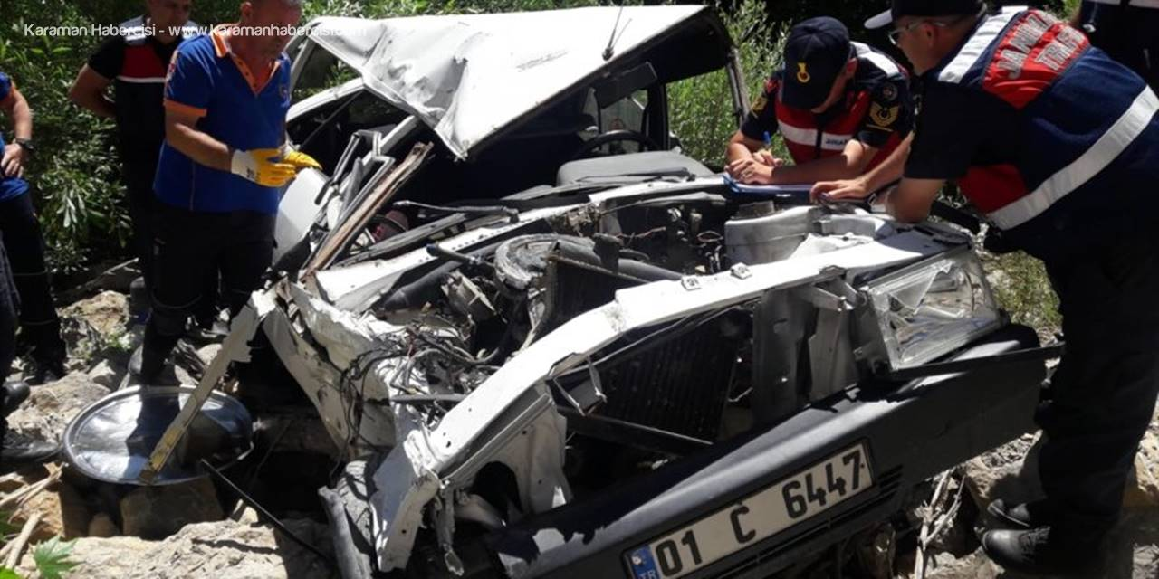 Niğde'de Yaşanan Kazada Karı Koca Hayatını Kaybetti