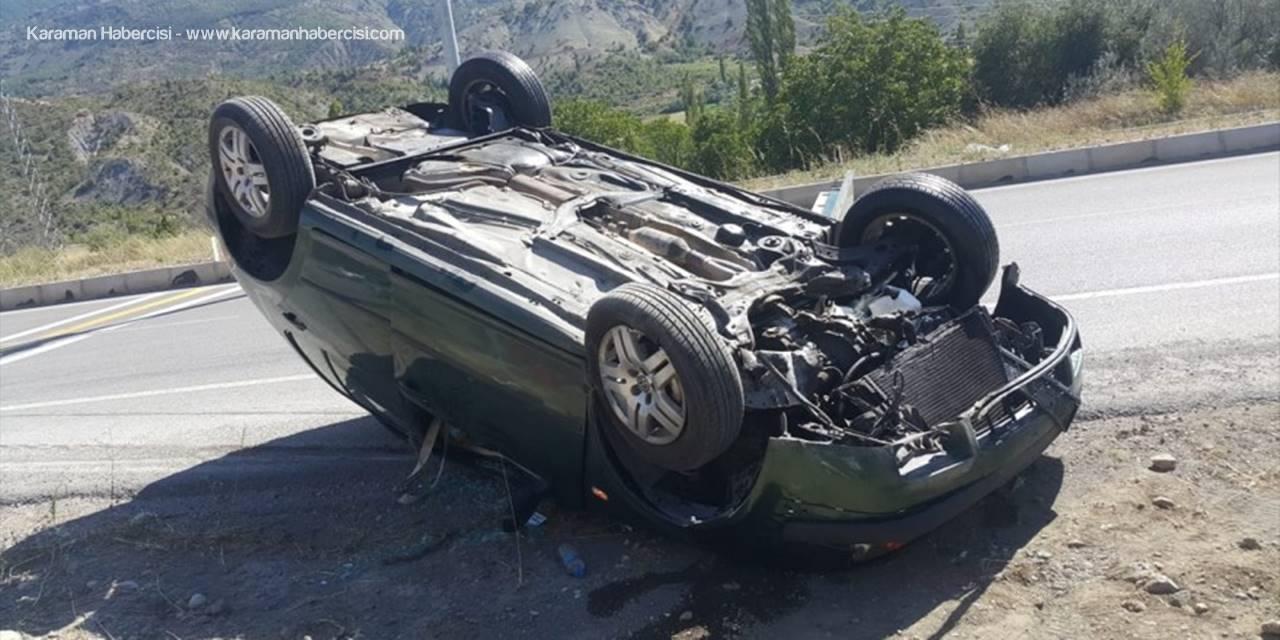 Koyulhisar Trafik Kazası: 2 Yaralı