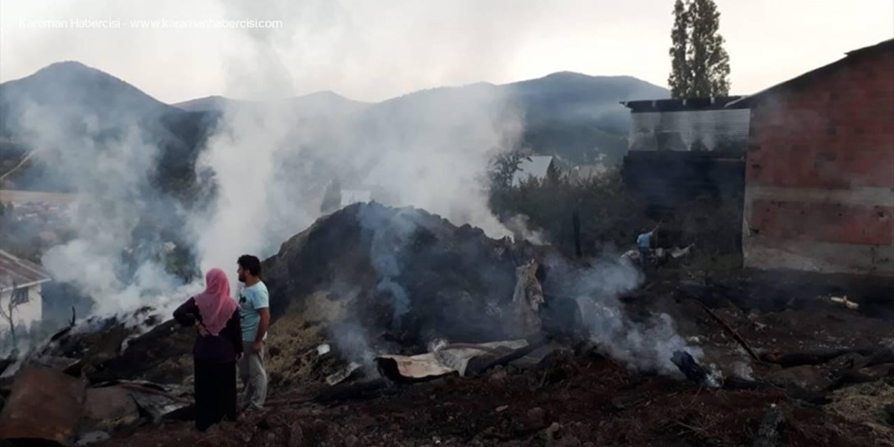 Koyulhisar'da Yangın