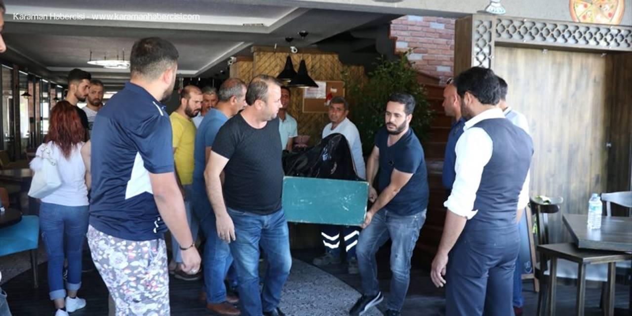 Antalya'da Elektrik Akımına Kapılan İşçi Öldü