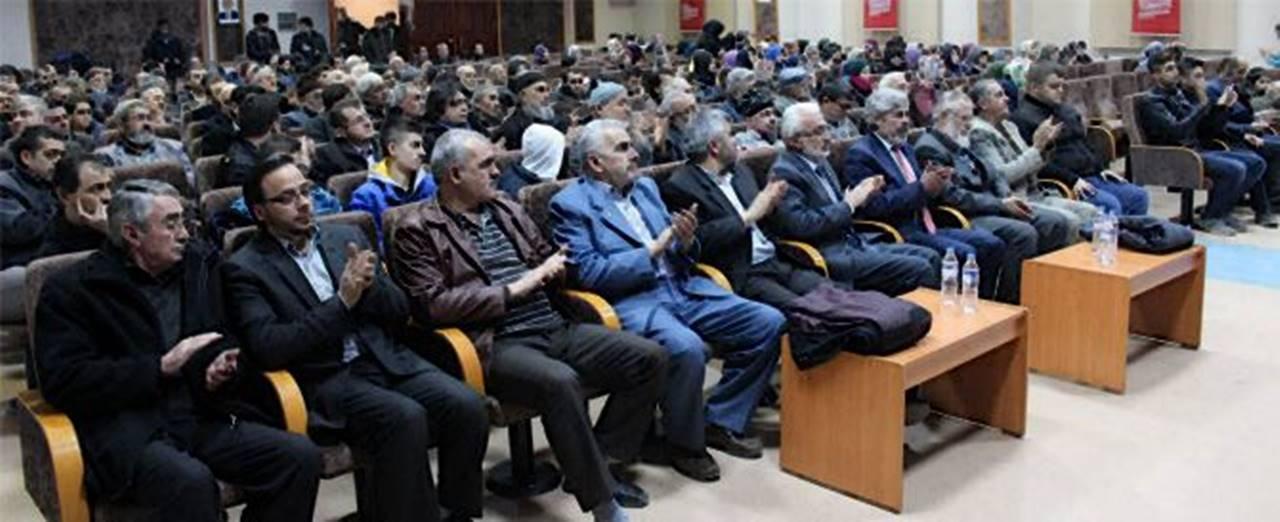 Prof. Dr. Necmettin Erbakan Karaman'da Anıldı