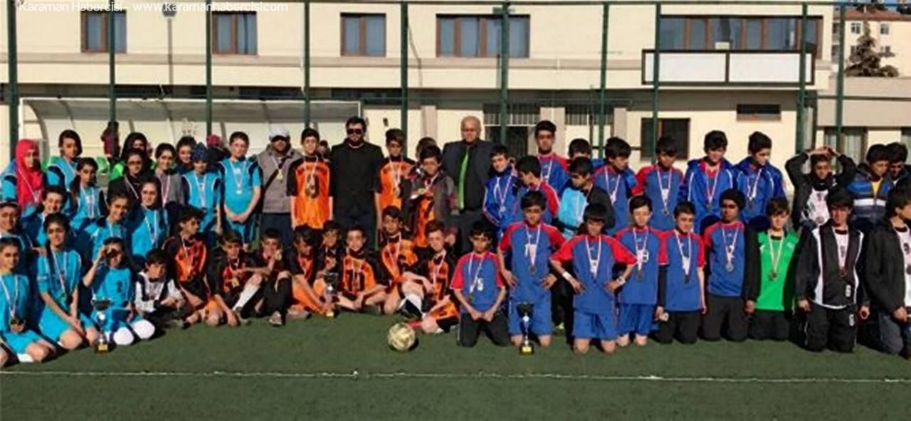 Makbule Orman Ortaokulu Futbolda Rüzgar Gibi Esti