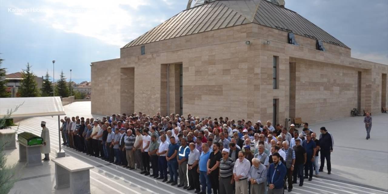 Karaman'daki Cinayete Kurban Giden Vatandaş Defnedildi