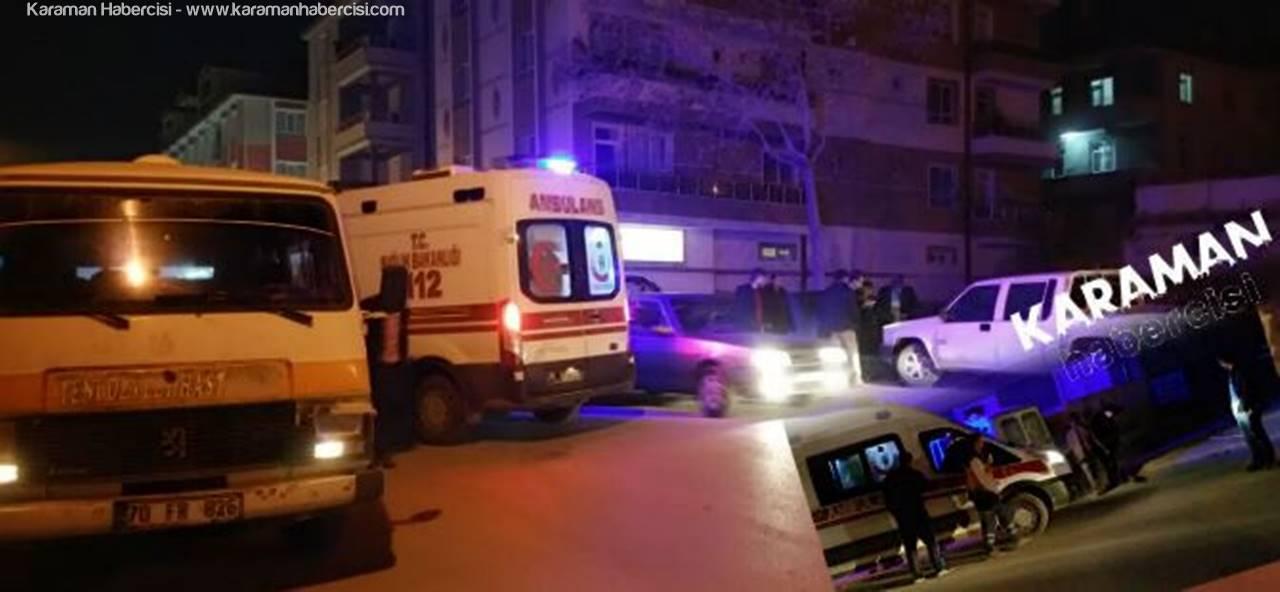 Karaman'da Fabrika Servisini Ring Yaptılar, Sopalarla Saldırdılar
