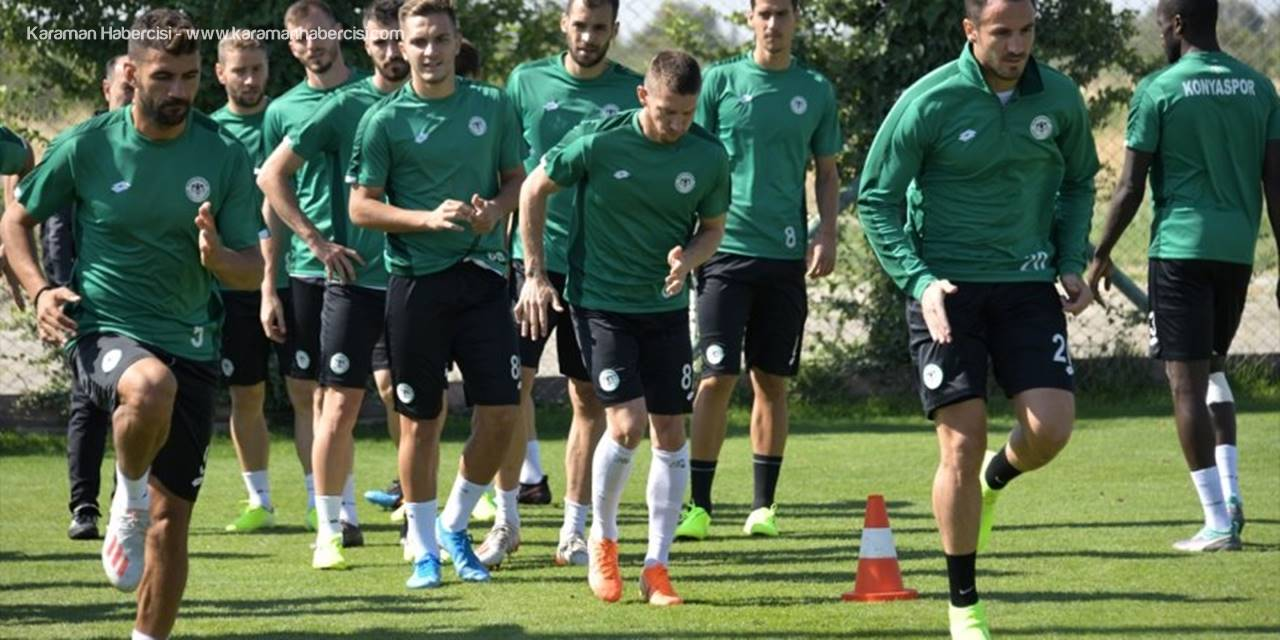 Konyaspor, Galatasaray Maçı Hazırlıklarını Tamamladı