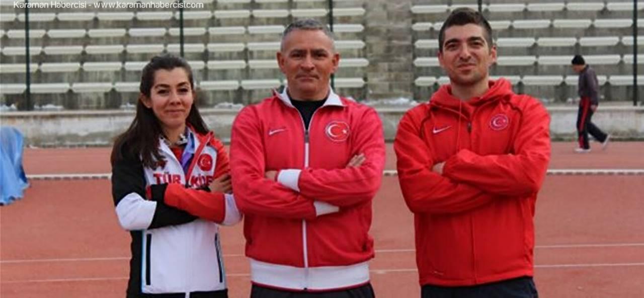Karaman, Atletizm Antrenörlerinin Yeni Görevi