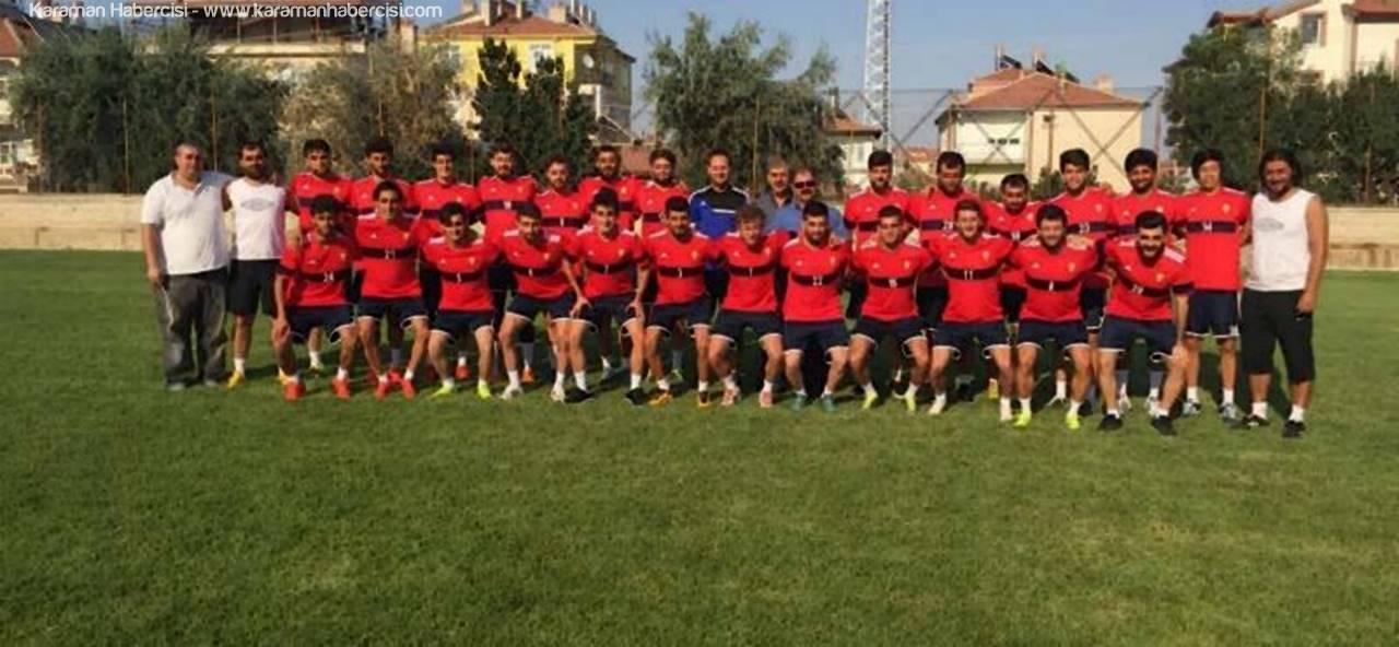 Karaman Belediyespor Hazırlık Maçına Çıkıyor