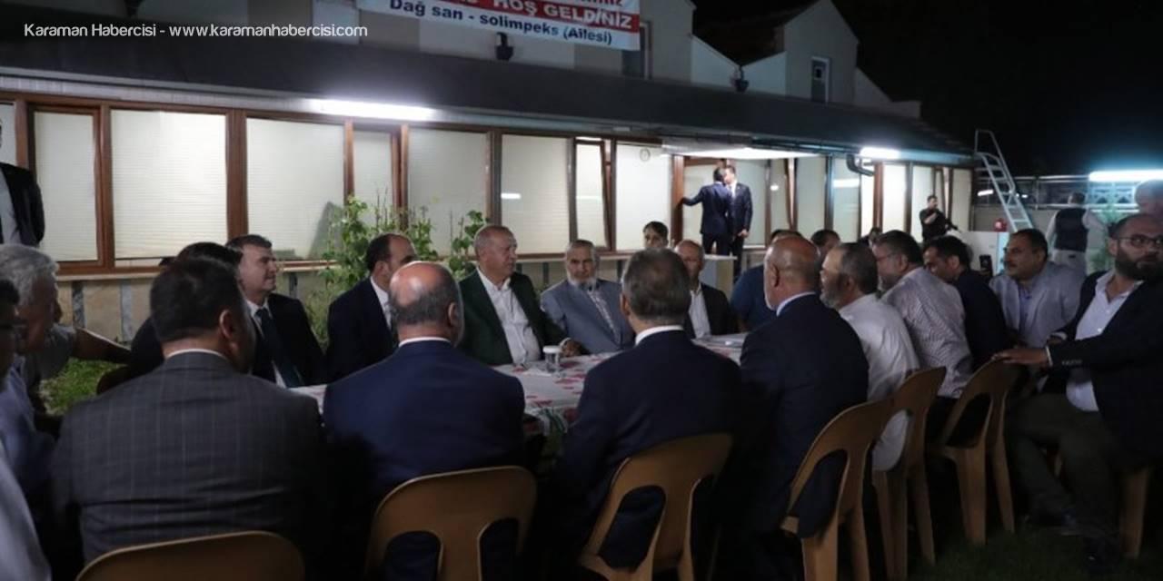 Cumhurbaşkanı Erdoğan, İş Adamı Halil İbrahim Dağ'ı Ziyaret Etti