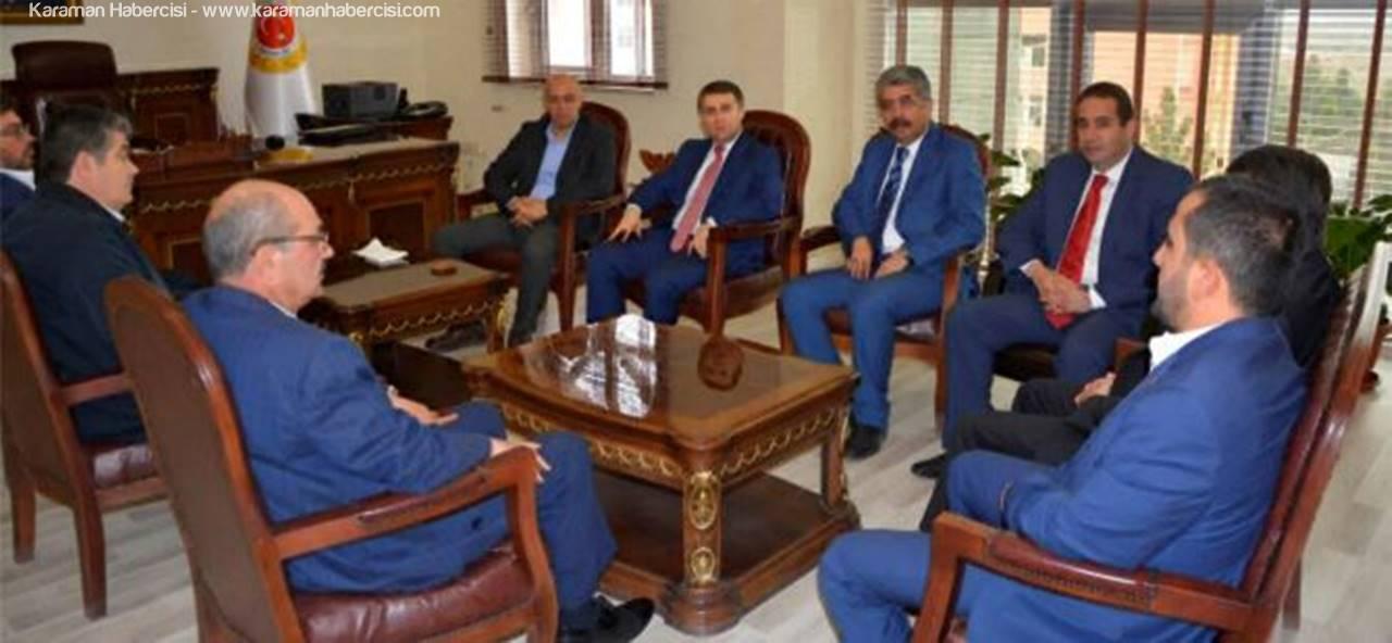 Başkan Çalışkan ve Ekibi Viranşehir'de