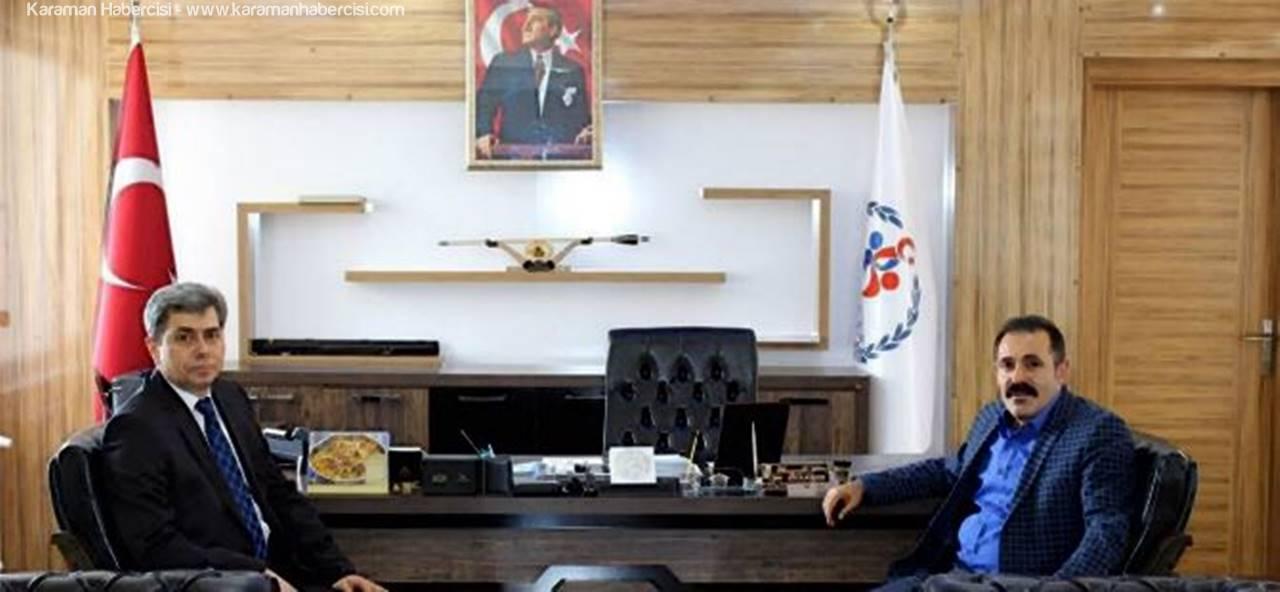 Emniyet Müdürü Levent Tutuk Hayati Kısacık'ı Ziyaret Etti