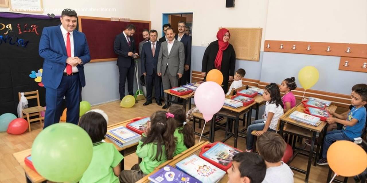 Kahramankazan'da Birinci Sınıf Öğrencilerine Hediye Sürprizi