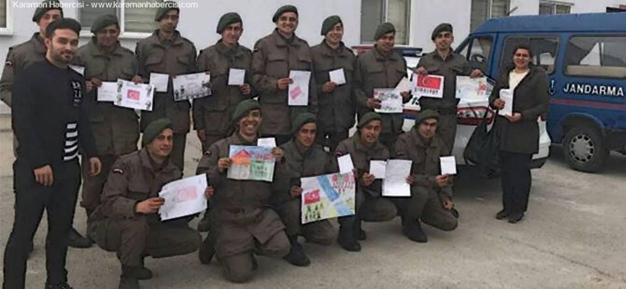 Miniklerden Askerlere Özel Mektup