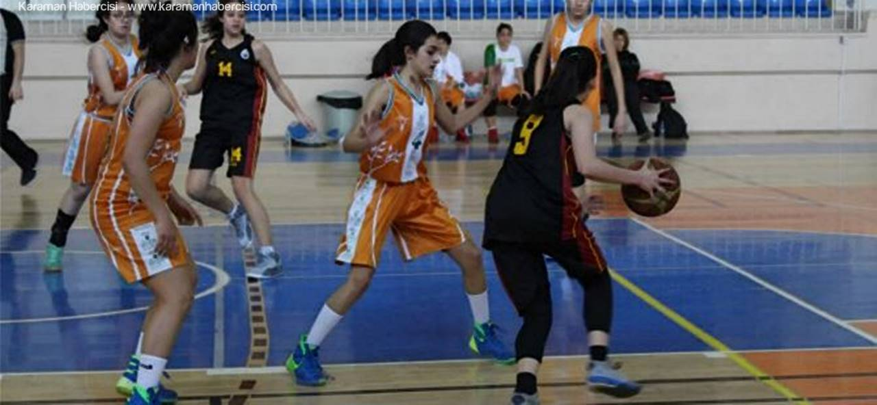 Basketbol Müsabakaları Karaman'da Devam Ediyor