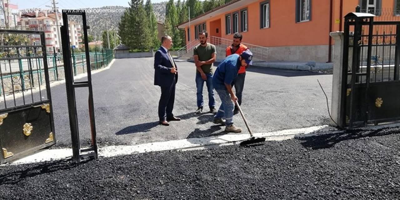 Bozkır'da Okullar Eğitime Hazır
