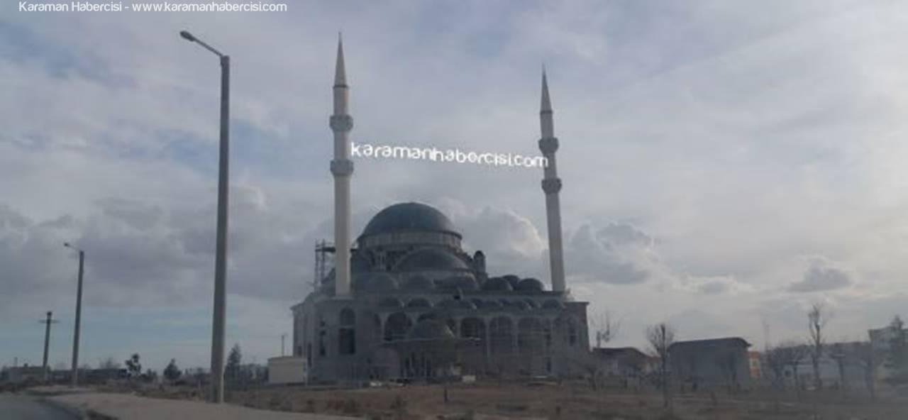 Karaman OSB Cami İbadete Açılmak İçin Gün Sayıyor