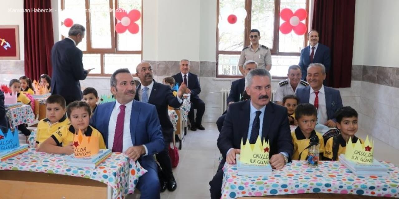 Aksaray'da 83 Bin 361 Öğrenci İçin Ders Zili Çaldı