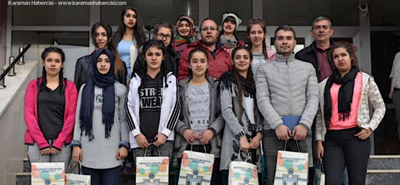 Kadirli Osman Gazi Lisesi KMÜ'yü Ziyaret Etti
